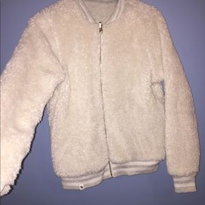 Tops - Fluffy duo jacket
